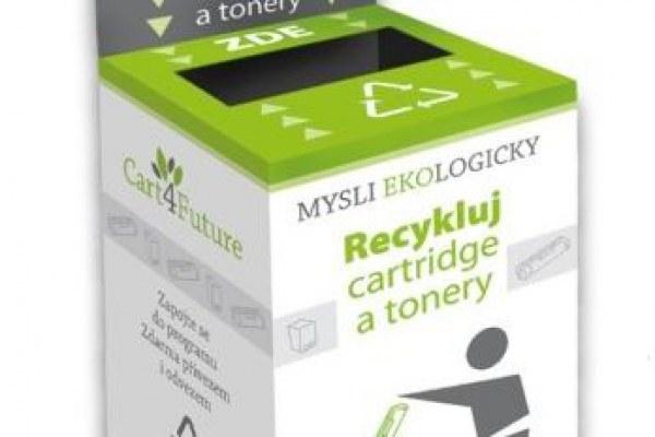 Recyklohraní - nově sbíráme cartridge a tonery