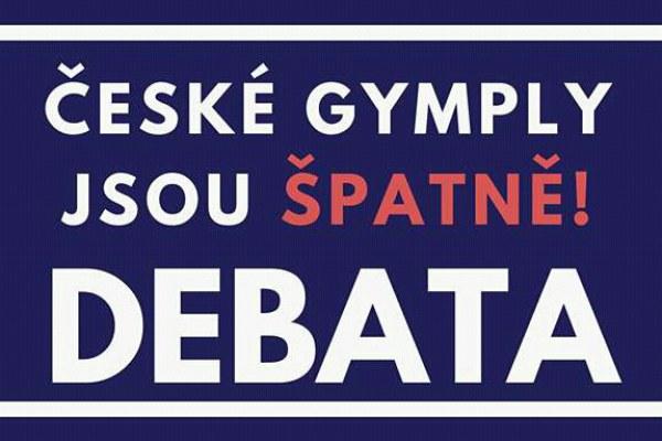 """Pozvánka na debatu """"České gymply jsou špatně"""""""