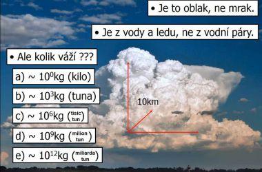 Cumulonimbus – oblak známý i neznámý