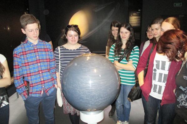 První badatelský den jsme navštívili planetárium a Anthropos v Brně