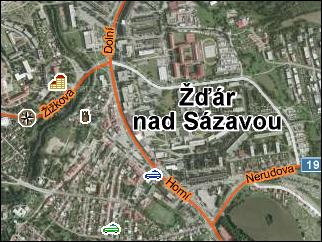 Fotomapa na Mapy.cz