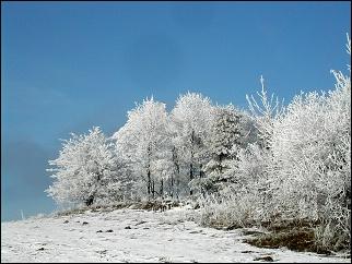 Zima na Křižánkách